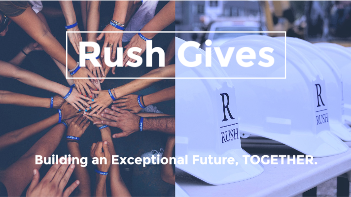 rush gives