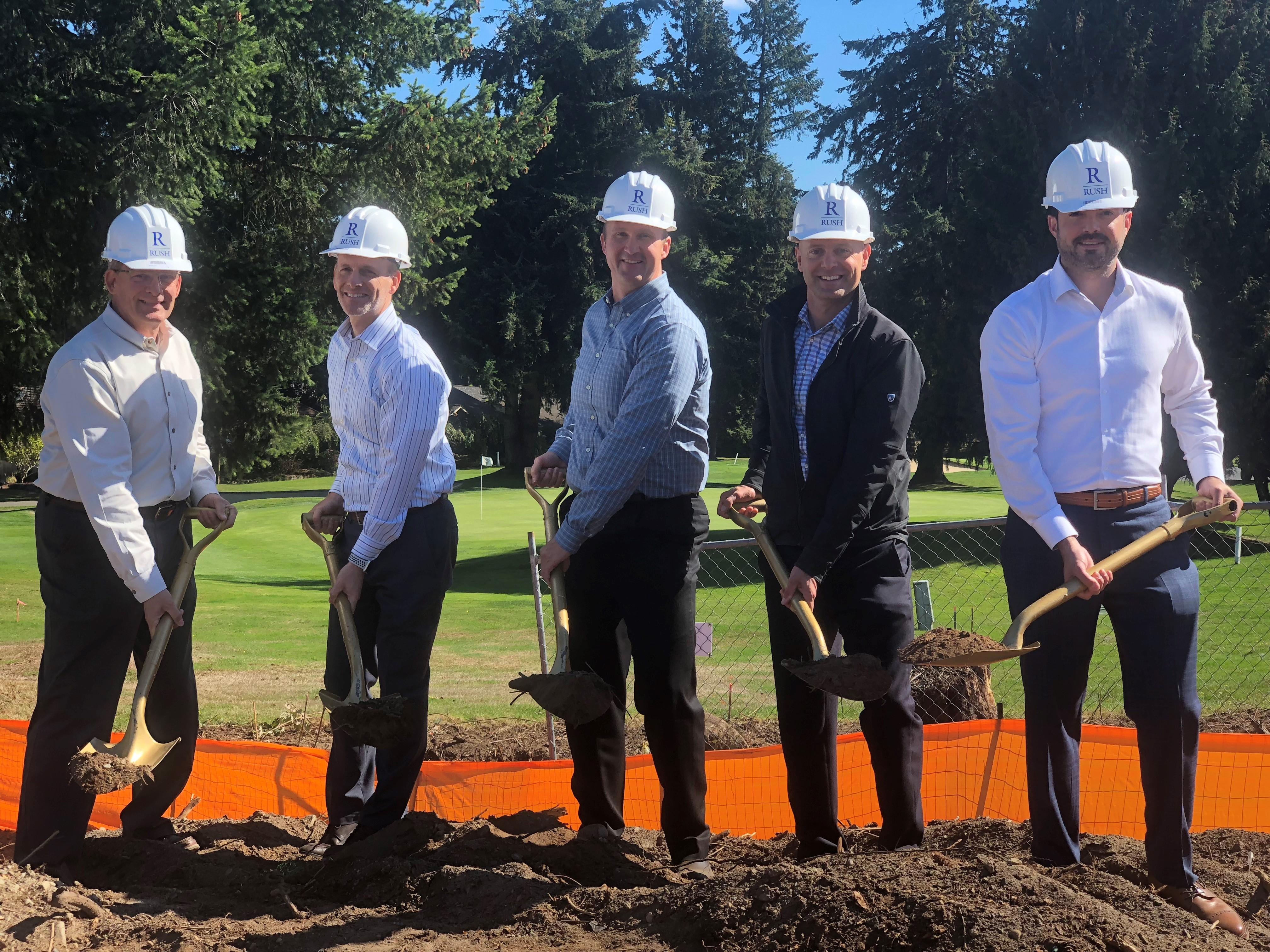 Rush In The News: Seattle DJC   Fairwood Senior Groundbreaking