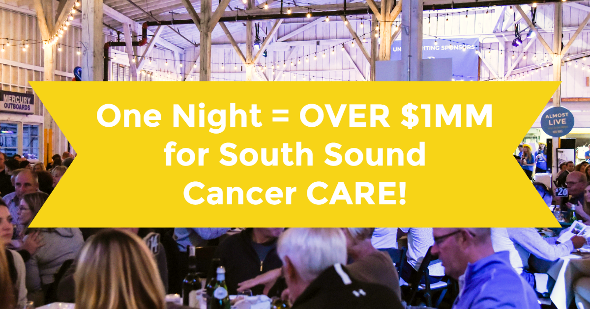 Over One Million Dollars Raised To Help Fight Cancer in The South Sound!