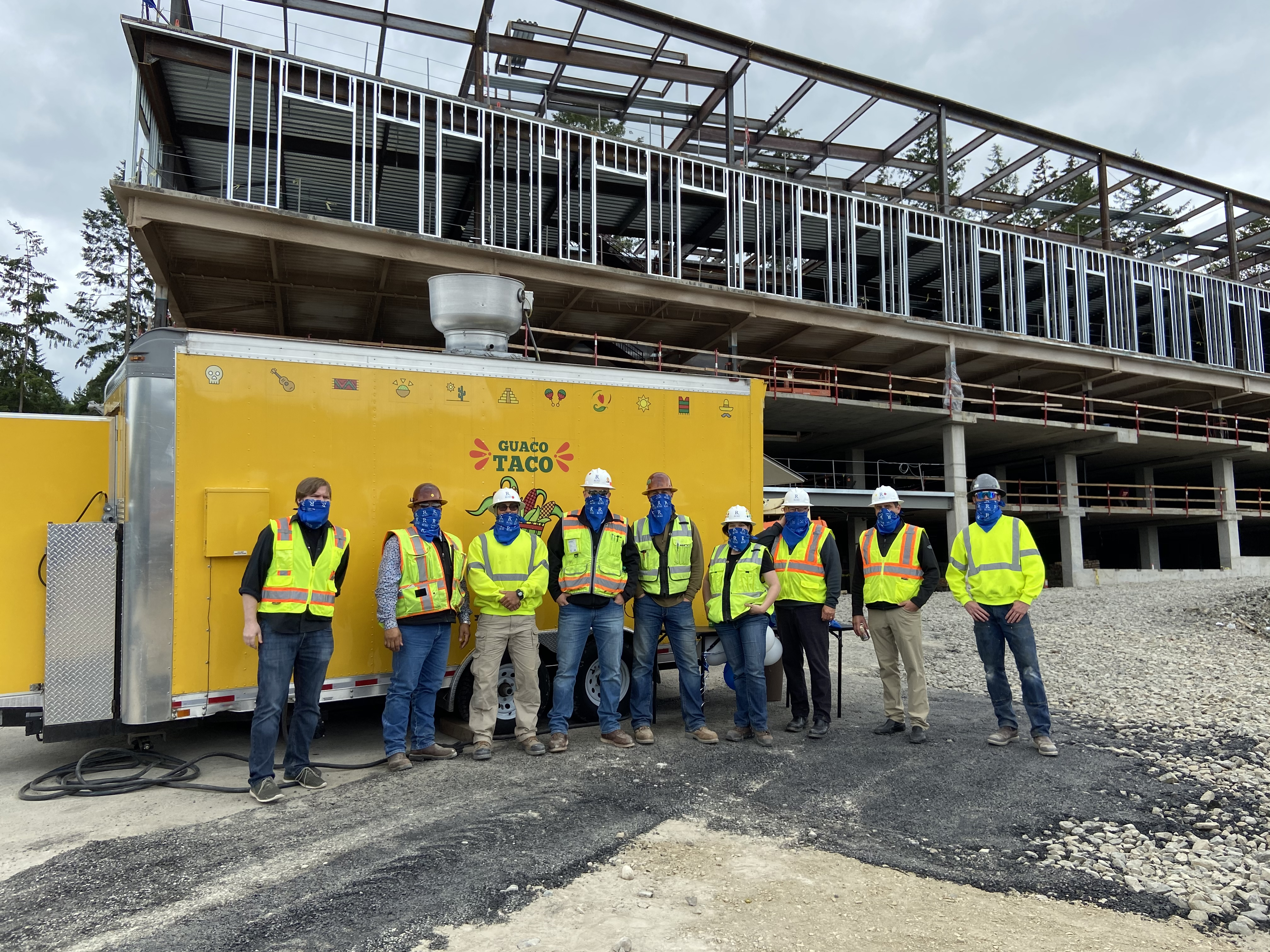 Harrison Specialty Care Clinic Celebrates Safety and Topping Out