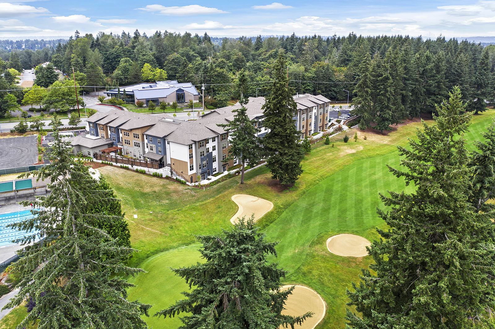 The Rush Companies Completes Senior Living, Village Concepts of Fairwood