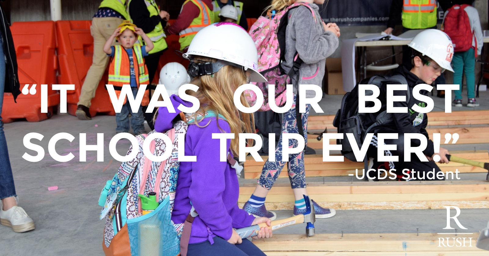 UCDS Elementary tour of Greenwood Project